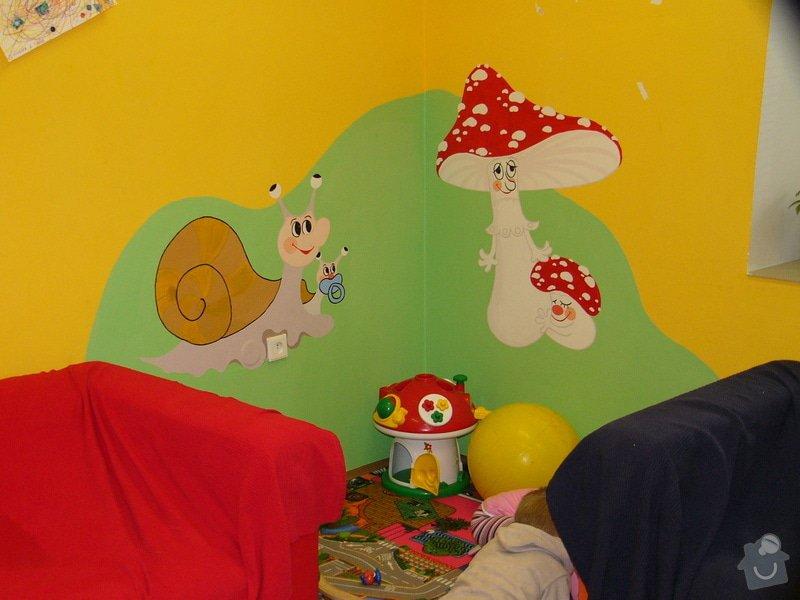 Nástěnná malba v mateřském centru Poděbrady: P1170368