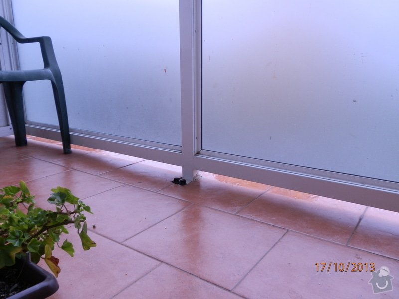 Zasklení balkónu: PA170137
