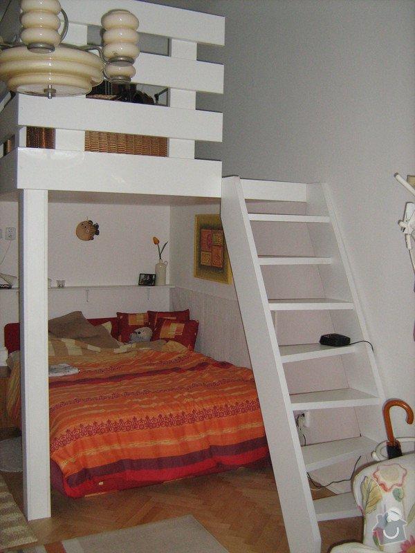Výroba dřevěného patra a menších kusů nábytku: IMG_0490