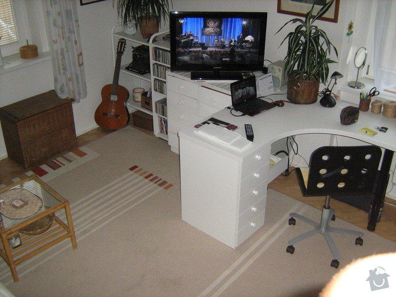 Výroba dřevěného patra a menších kusů nábytku: IMG_0494