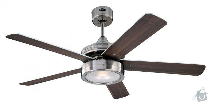 Instalace stropního vnetilátoru: Ventilator
