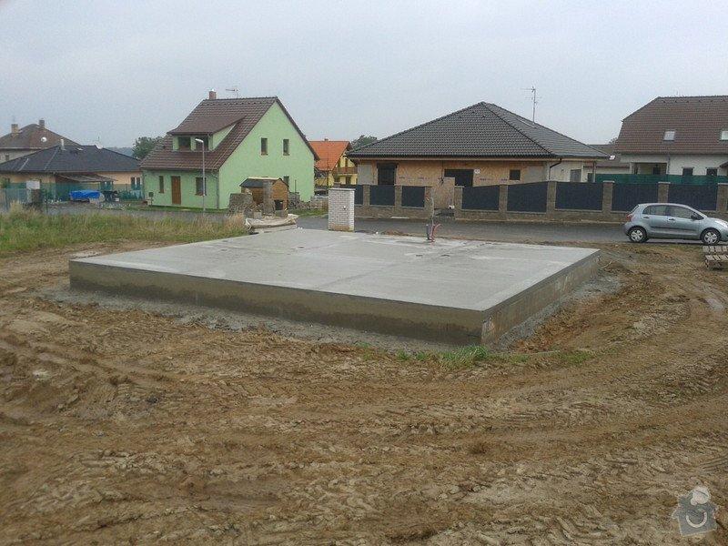 Dešťová kanalizace se vsakovací jímkou: stavba