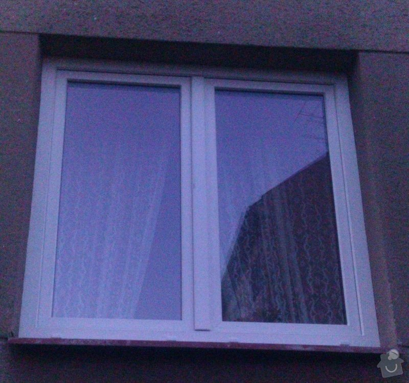 Plastové okno - dvoukřídlé: okno