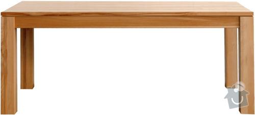 Jídelní stůl a židle: stul
