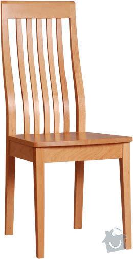 Jídelní stůl a židle: zidle