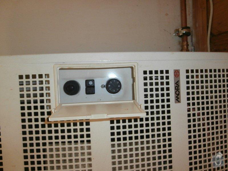 Revize a oprava plynoveho topidla Mora: PA171616