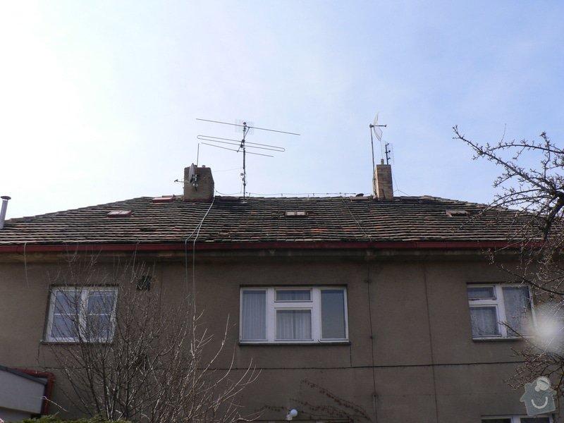 Rekonstrukce střešního pláště na RD ul. Dobročovická: P1130491