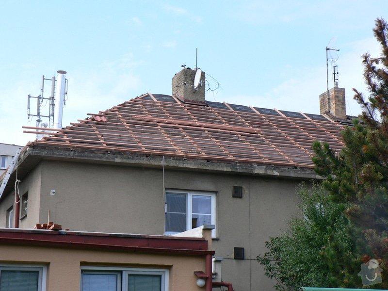 Rekonstrukce střešního pláště na RD ul. Dobročovická: P1140821