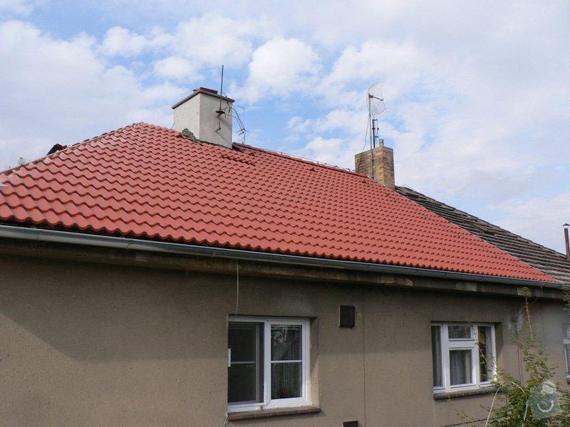 Rekonstrukce střešního pláště na RD ul. Dobročovická: P1140893