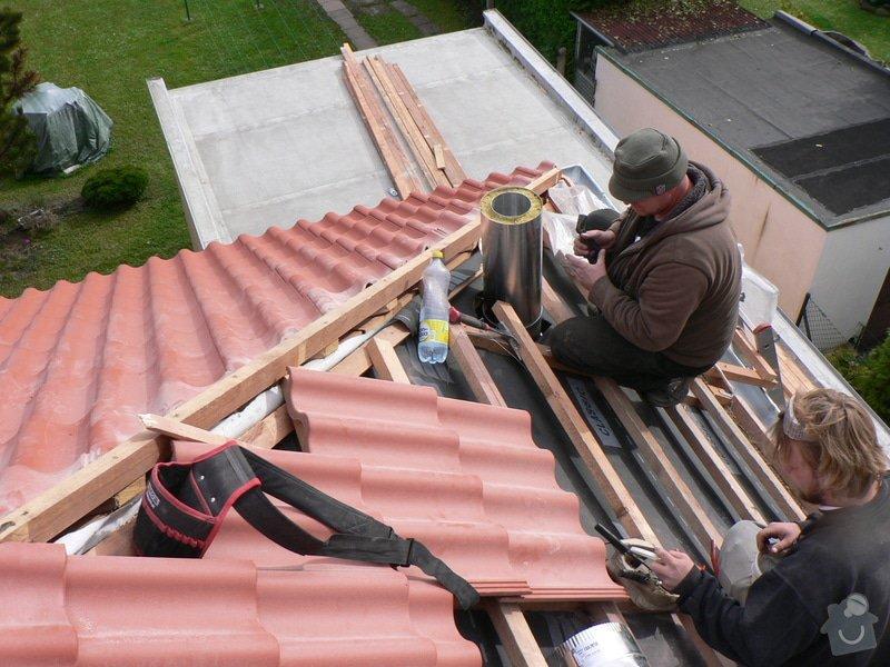 Rekonstrukce střešního pláště na RD ul. Dobročovická: P1140895