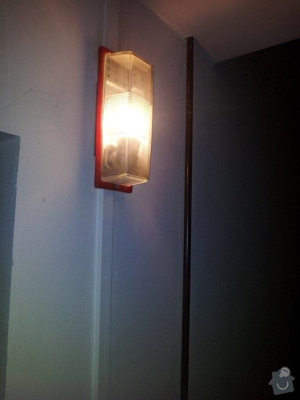 Rekonstrukce svítidel SVJ Kladno: Spova_svetla_chodba_2