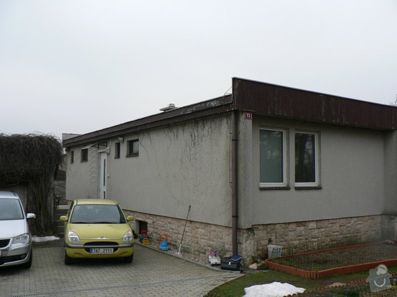 Nová střecha na rovném Okálu: P1130395