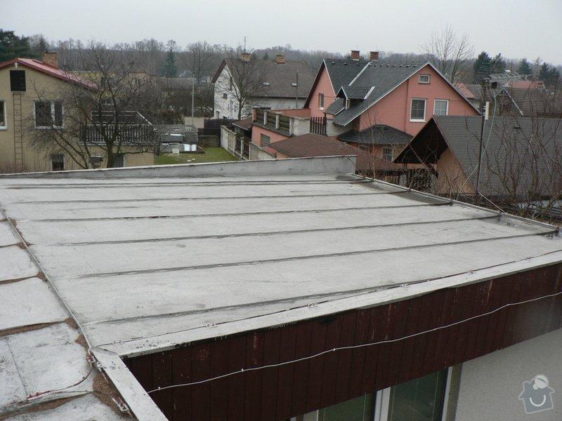Nová střecha na rovném Okálu: P1130397