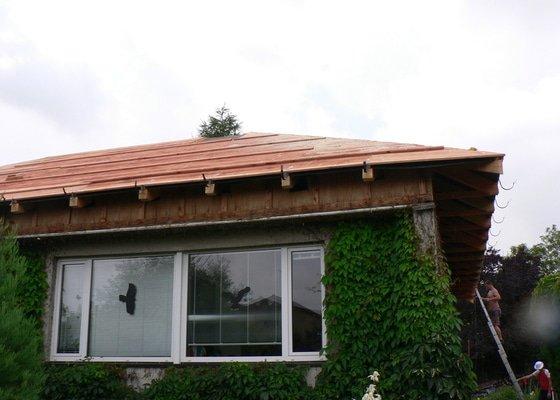 Nová střecha na rovném Okálu
