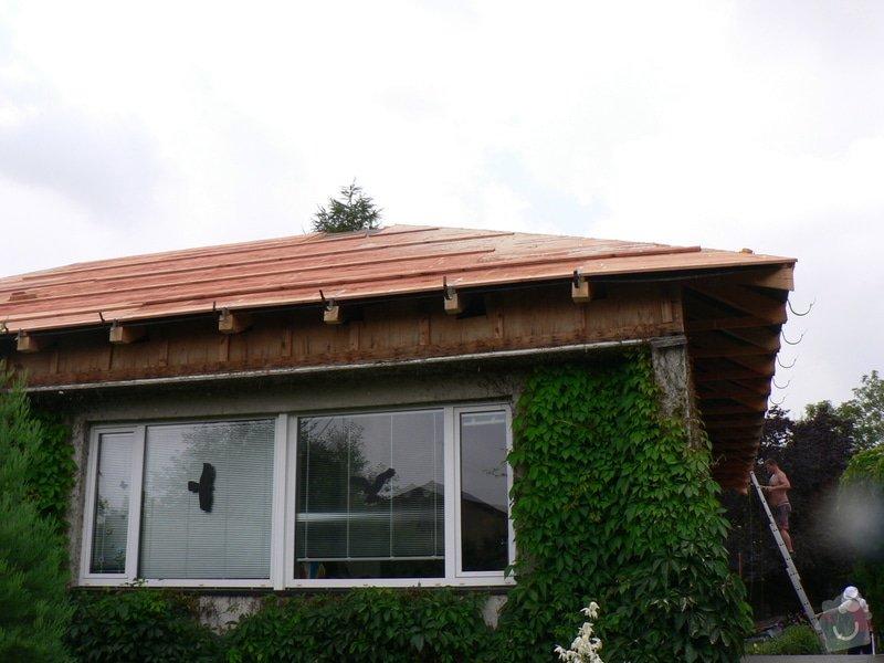 Nová střecha na rovném Okálu: P1130841