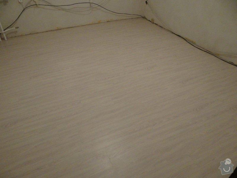 Pokládka vinylové podlahy (32m2): DSC00727