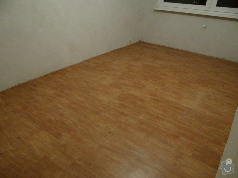 Pokládka vinylové podlahy (32m2): DSC00730