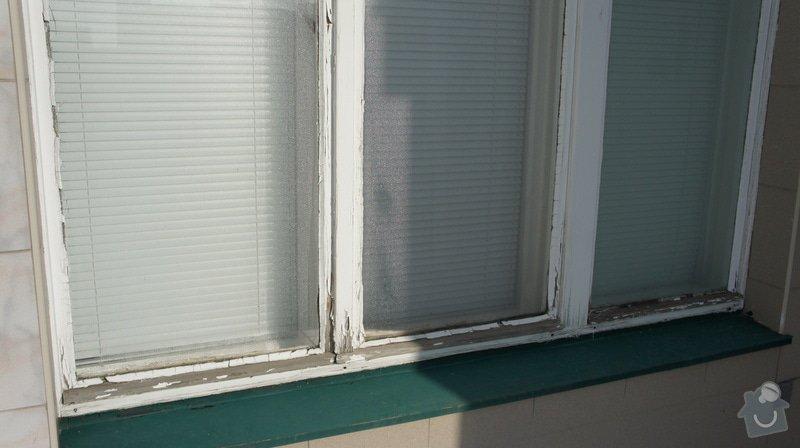 Repase vnějších dřevěných (špaletových) oken: DSC05970