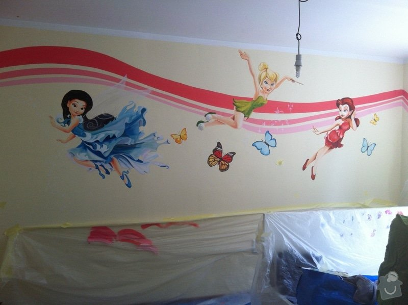 Výmalba dětského pokoje: IMG_2494