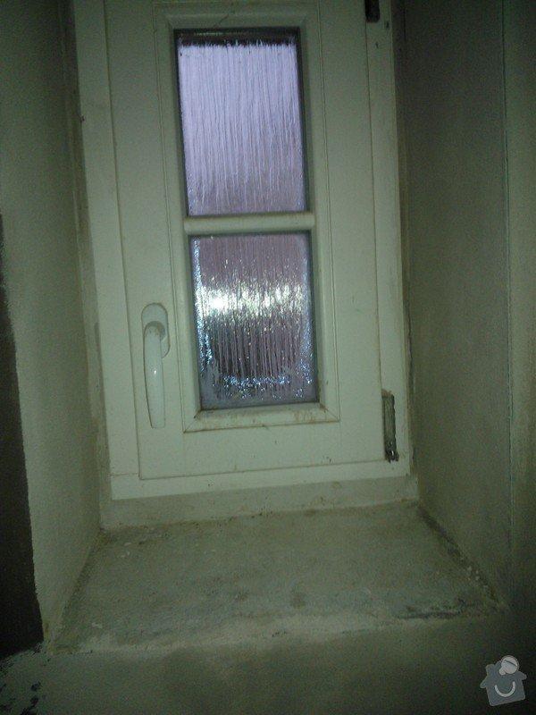 Dodávka a instalace parapetu: WP_000479