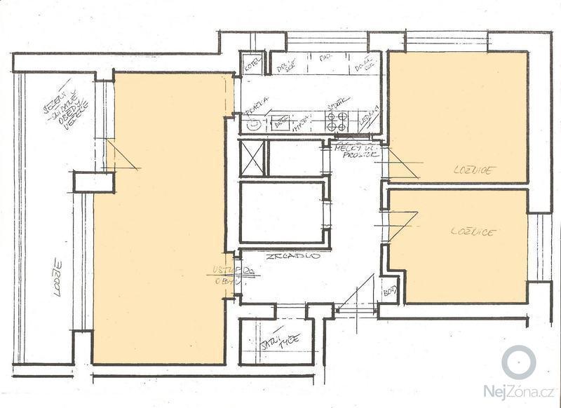 Broušení a lakování parket v bytě: byt-nahled-parkety