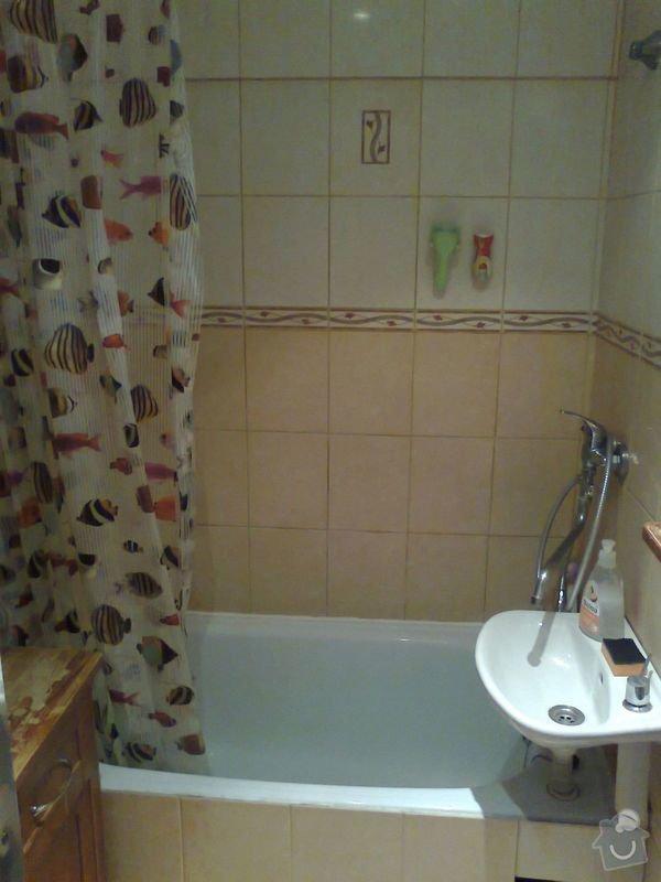 rekonstrukce bytového jádra a kuchyně, malování, pokládka podlahy, instalace vestavěných skříní - garsonka 40m2: 1