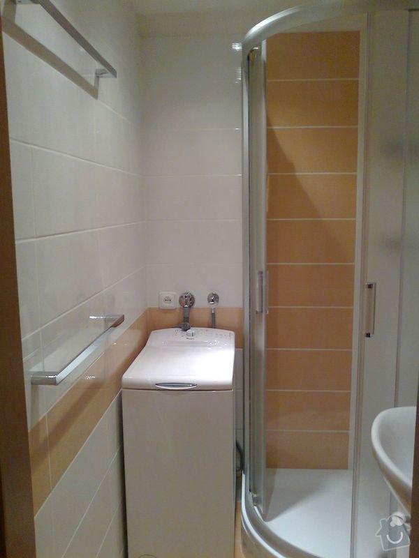 rekonstrukce bytového jádra a kuchyně, malování, pokládka podlahy, instalace vestavěných skříní - garsonka 40m2: 3