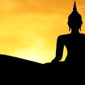 Obrazek logo pro dvorni fasadu buddha silhouette