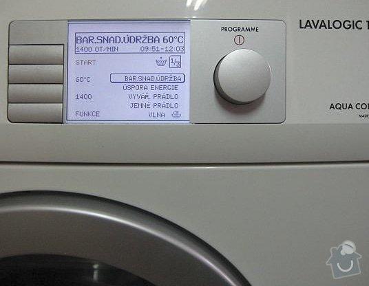 Oprava pracky AEG: lavalogic