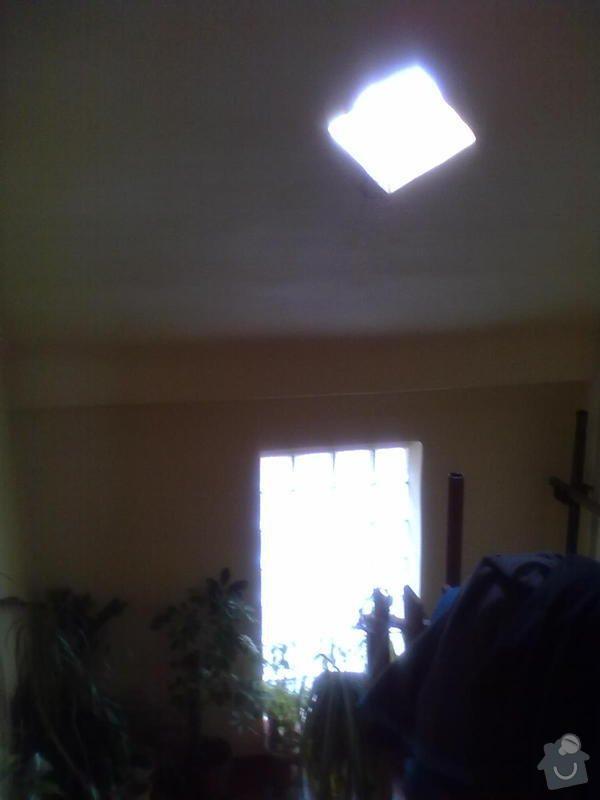 Montáž sádrokartonu, Montáž střešního okna: 21102013840