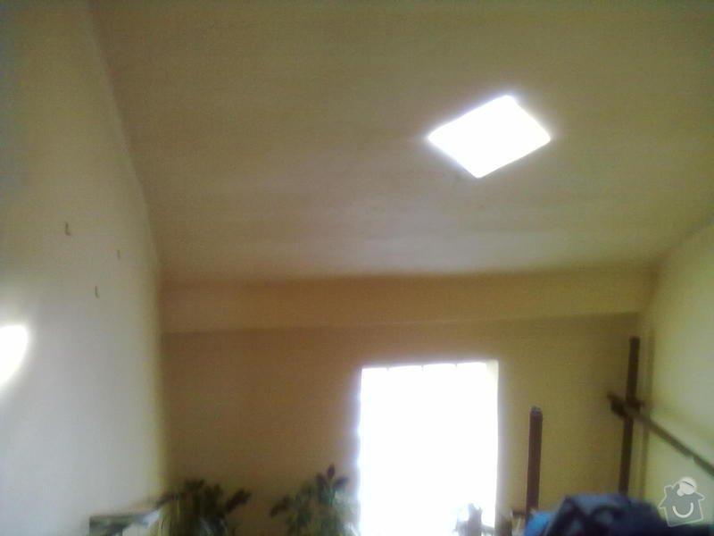 Montáž sádrokartonu, Montáž střešního okna: 21102013841