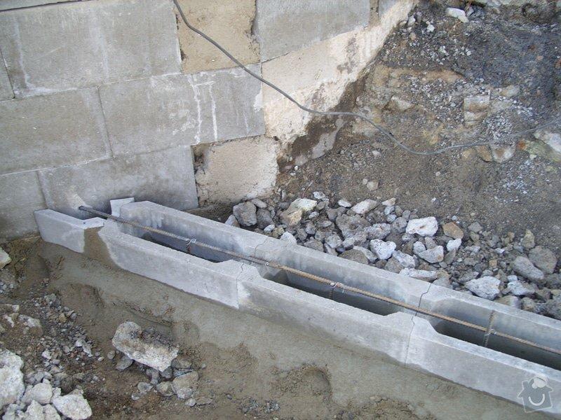 Rekontrukce schodů: SS856915