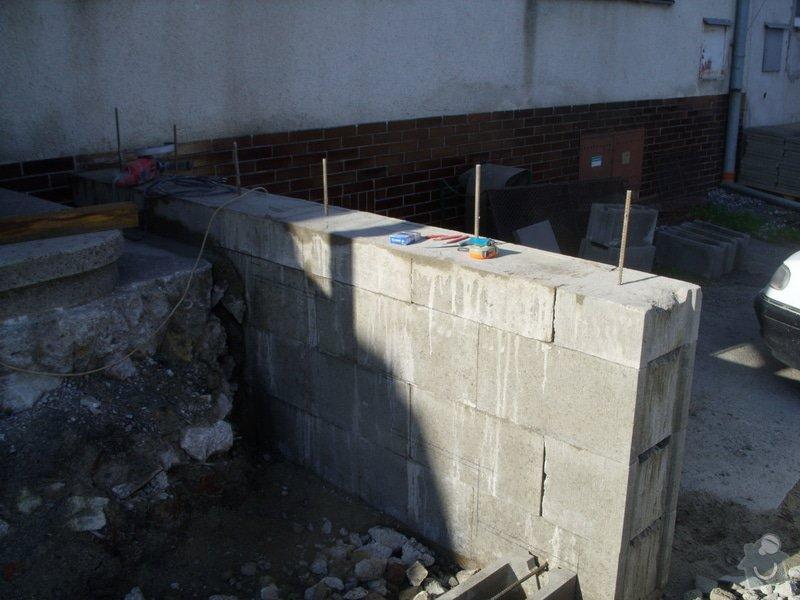 Rekontrukce schodů: SS856917