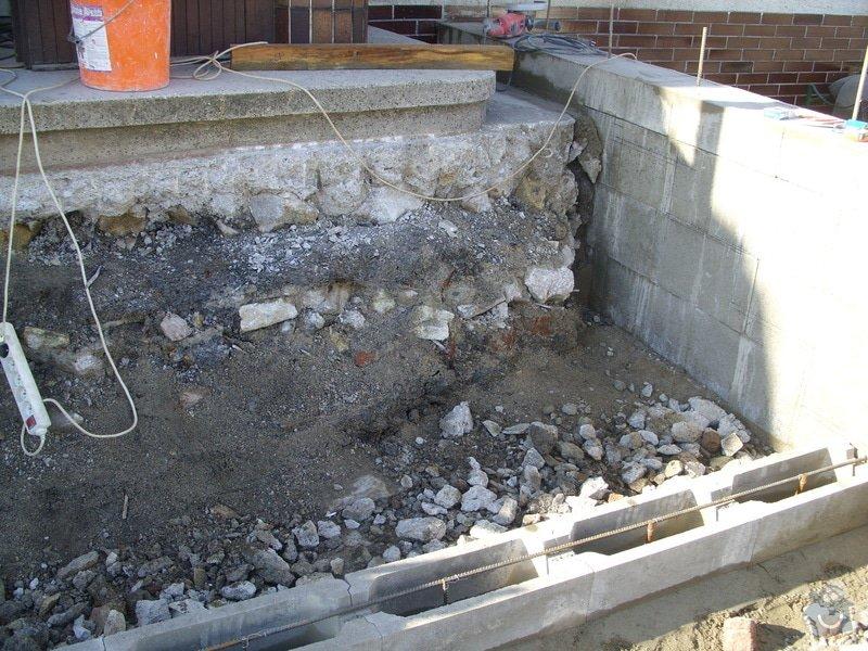 Rekontrukce schodů: SS856919