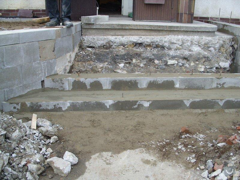 Rekontrukce schodů: SS856925