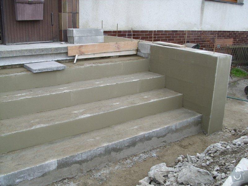 Rekontrukce schodů: SS856930