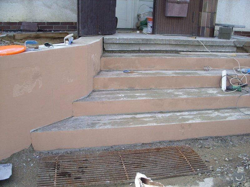 Rekontrukce schodů: SS856937