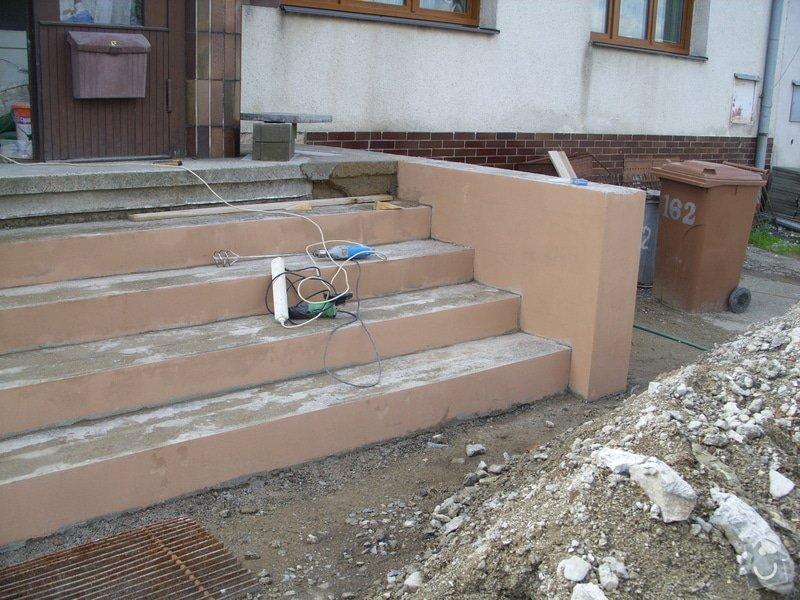 Rekontrukce schodů: SS856938