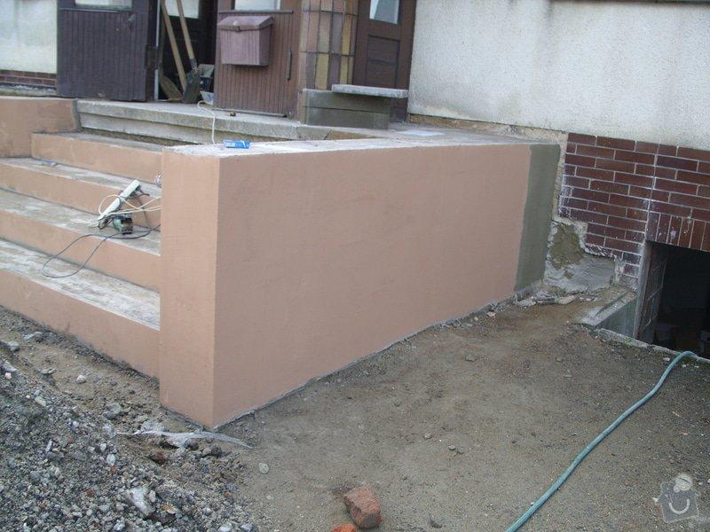 Rekontrukce schodů: SS856939