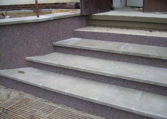 Rekontrukce schodů