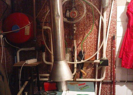 Montáž kondenzačního kotle Vaillant VK 306ecoVIT
