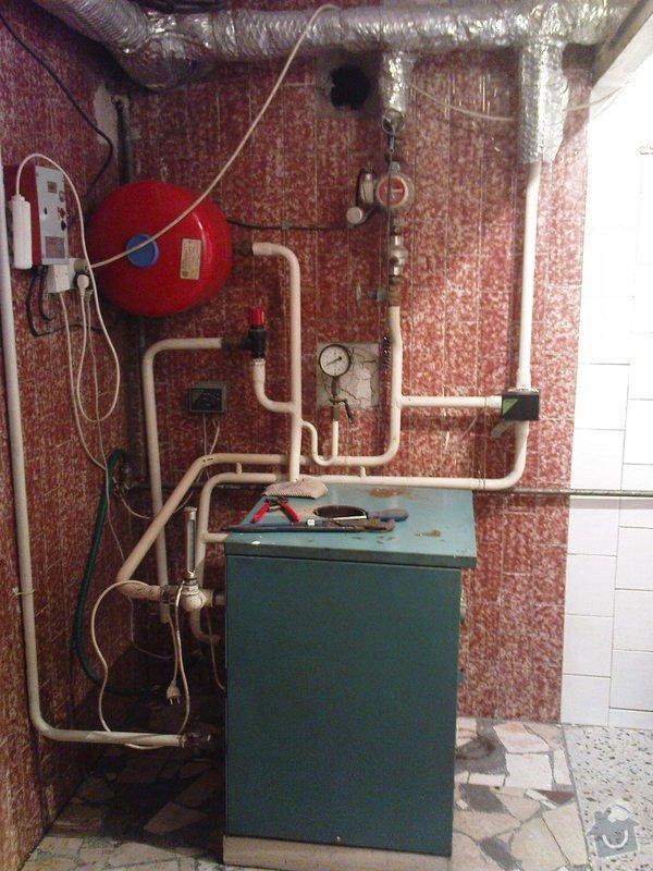 Montáž kondenzačního kotle Vaillant VK 306ecoVIT: DSC01029