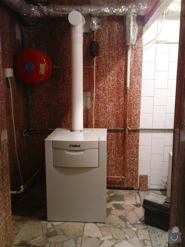 Montáž kondenzačního kotle Vaillant VK 306ecoVIT: DSC01031