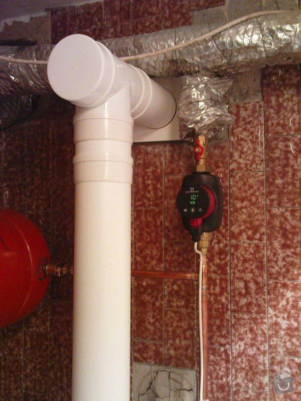 Montáž kondenzačního kotle Vaillant VK 306ecoVIT: DSC01032