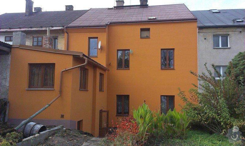 Zateplení jednopatrového řadového domu : IMAG0370