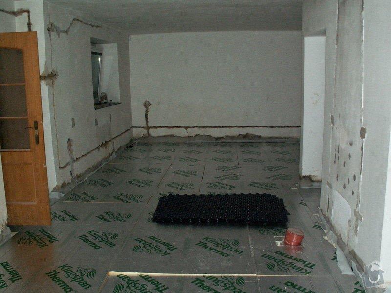 Montáž podlahového topení a technologie kotelny.: PICT6630