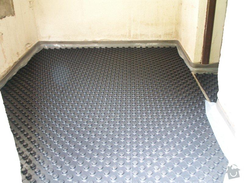 Montáž podlahového topení a technologie kotelny.: PICT6638