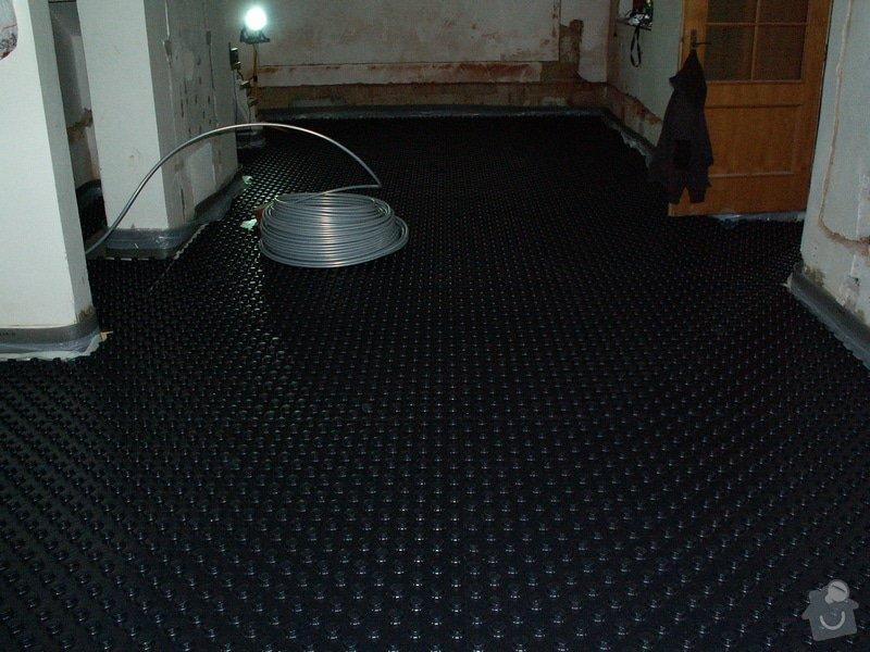 Montáž podlahového topení a technologie kotelny.: PICT6640