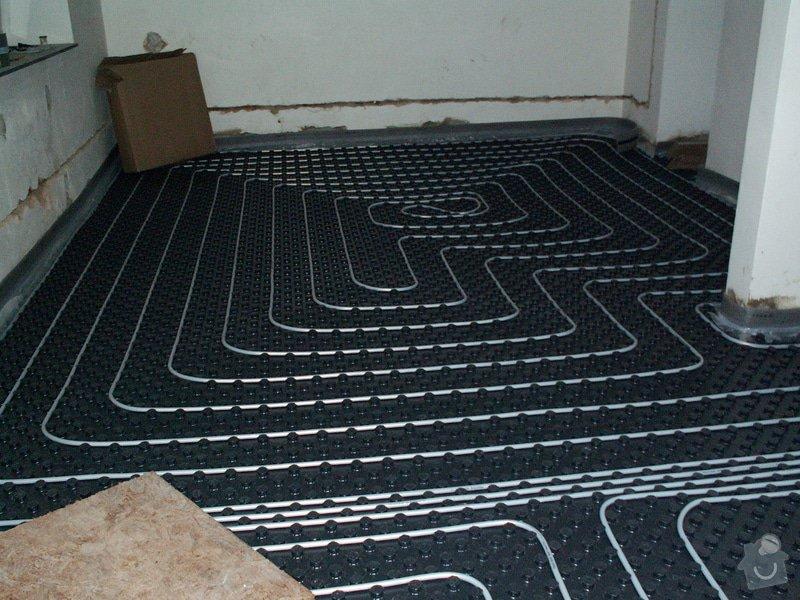 Montáž podlahového topení a technologie kotelny.: PICT6649