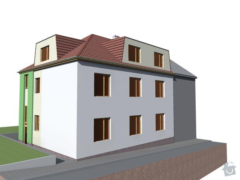 Pokrývačské, klempířské a tesařské práce na střeše: Novy_stav_01